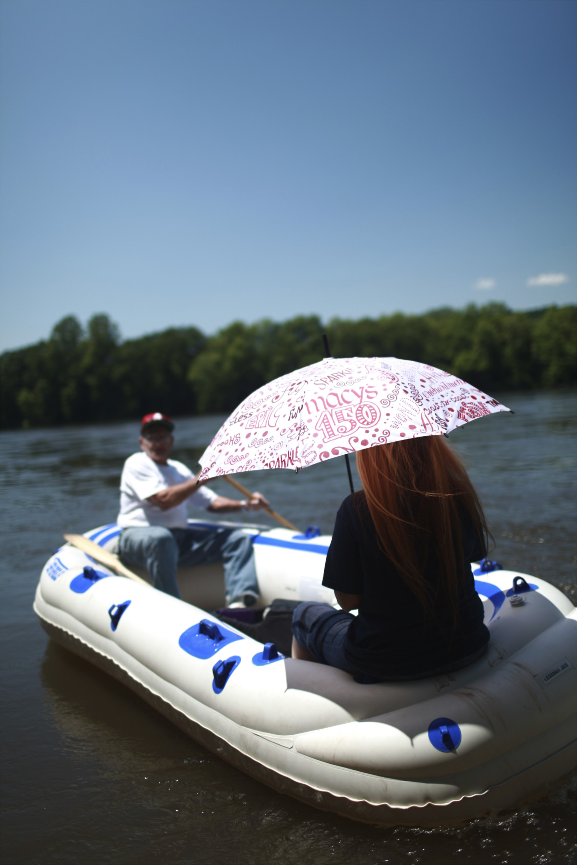 Rafts offer scenic views