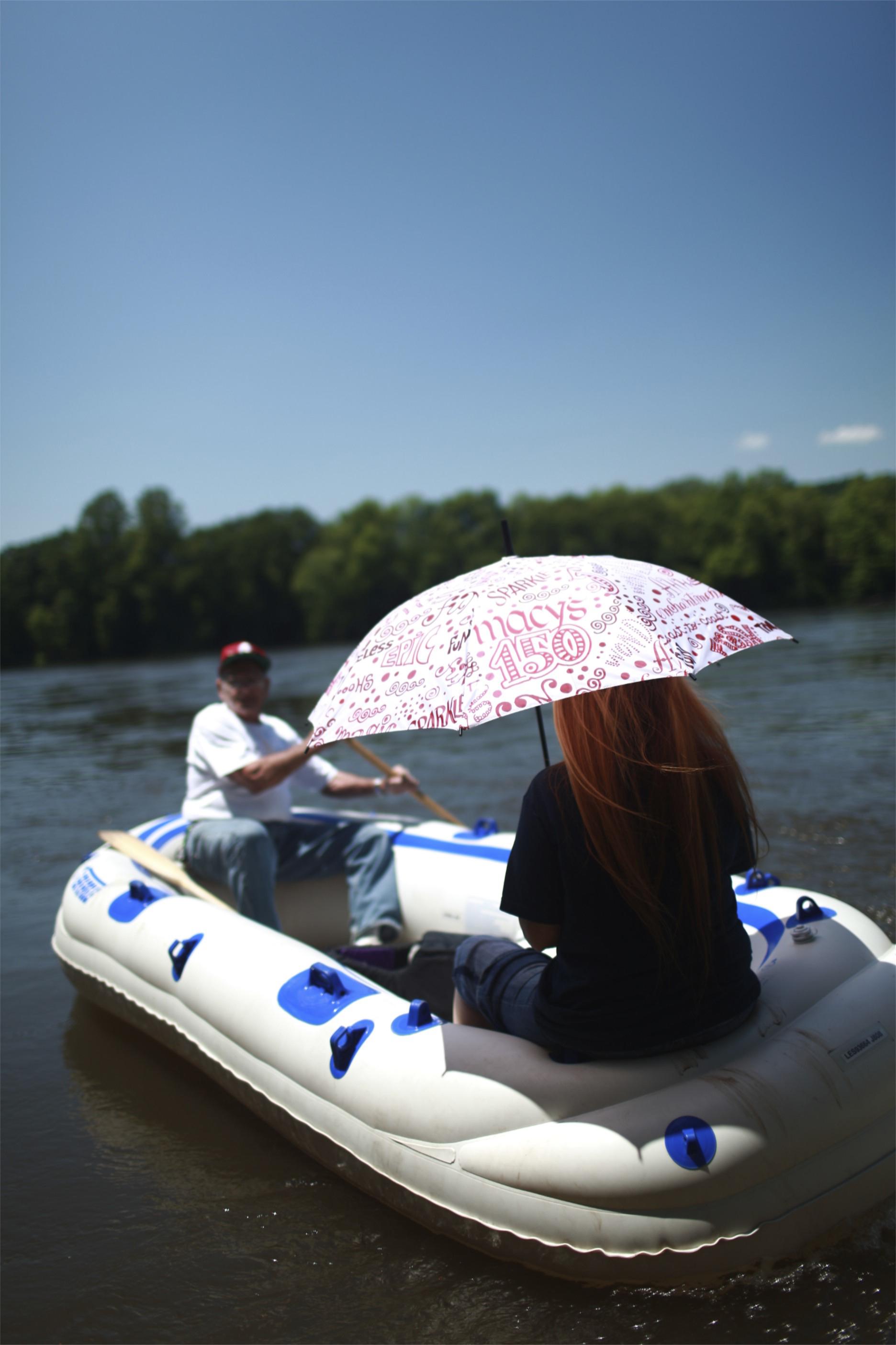 Rafting oferuje malownicze widoki