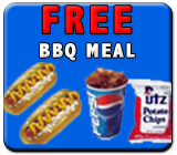 free bbq meal