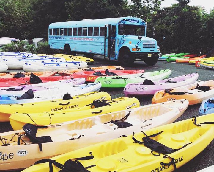 Tubing, Rafting, Canoeing and Kayaking at Delaware River Tubing