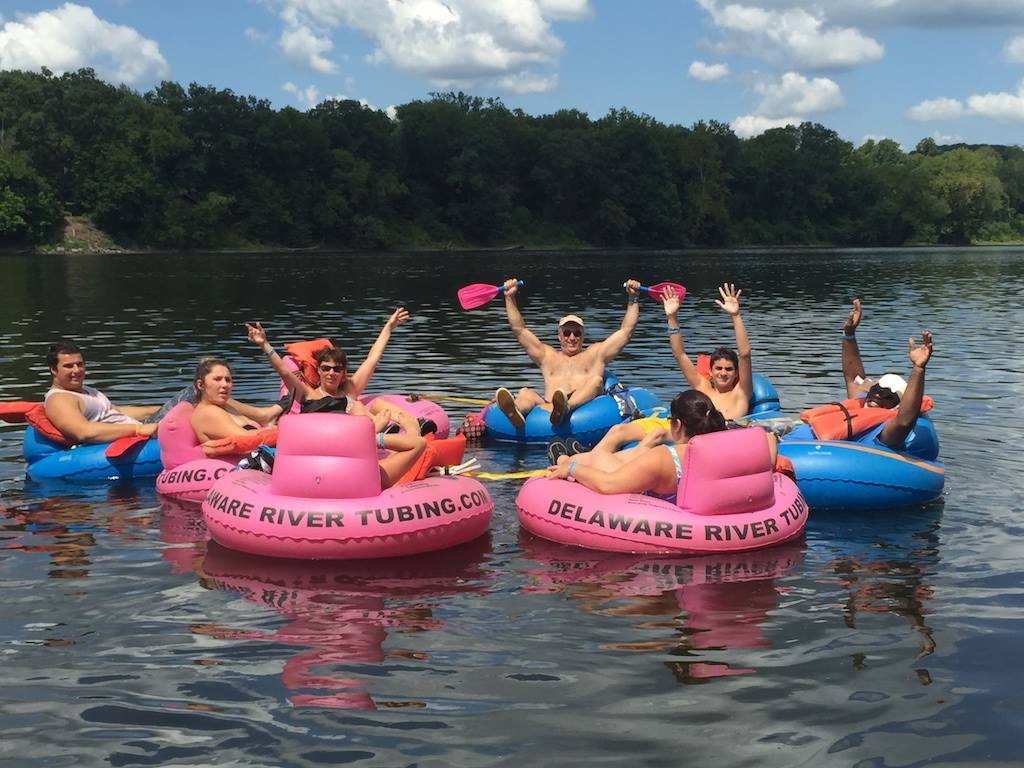 Tubers having fun!